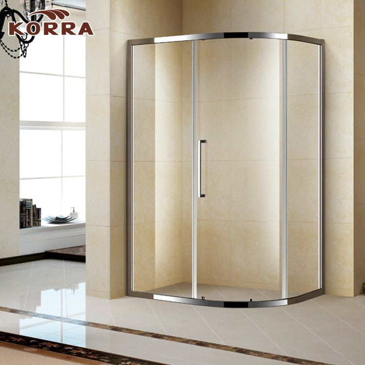 Offset Quadrant Shower Enclosure/Door with Sliding Panels