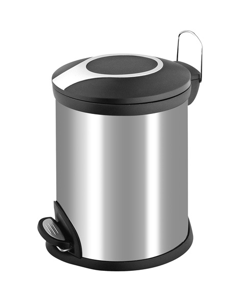 how to draw a dustbin step by step
