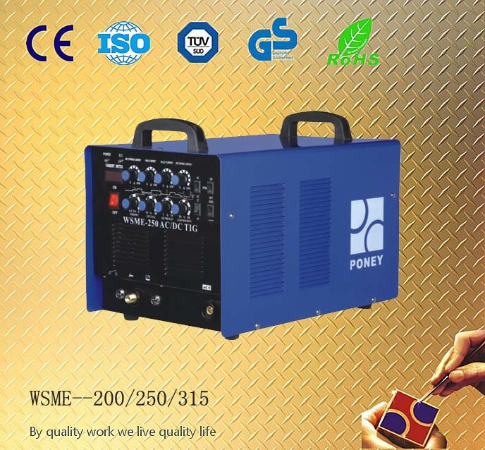 CE, RoHS Approved AC/DC TIG/MMA Inverter Welding Machine/Wsme Inverter Welder (WSME-200/250/315)