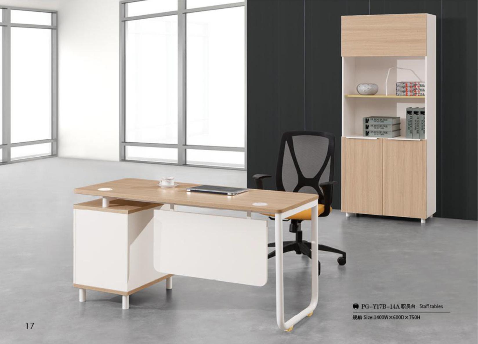 L-Shaped Melamine MDF Office Furniture Executive Desk