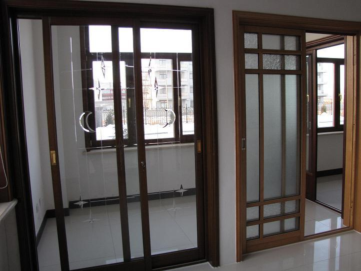 sliding solid wood aluminium clad solid wood patio doors china door