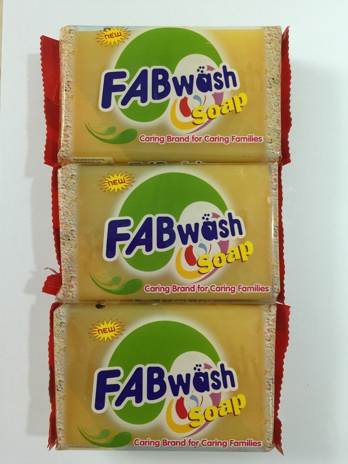 Fab Wash Soap (Yellow) for Medical Soap, Laundry Soap, Body Wash Soap, Care Soap Manufacturers, Beauty Care Soap, Wholesale Natural Body Soap