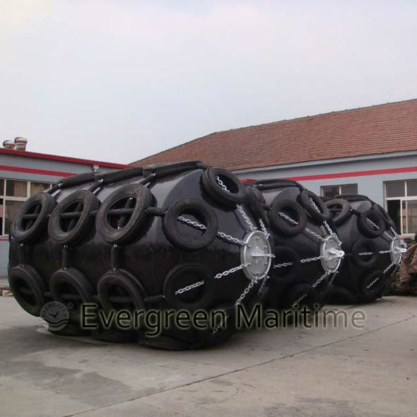 Guard Type EVA Foam Filled Ship Marine Fenders Floating Docks