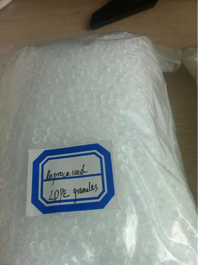 LDPE (Low-Density Polyethylene), Plastic Granule