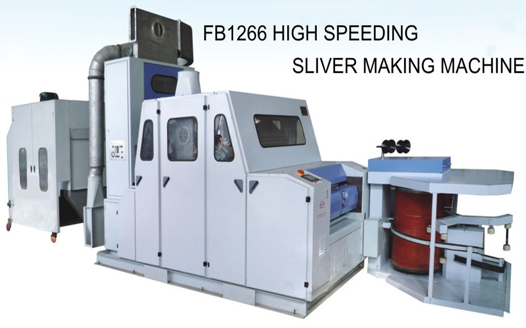 High Speeding Sliver Making Machine,Wool Carding Machine (FB1266)