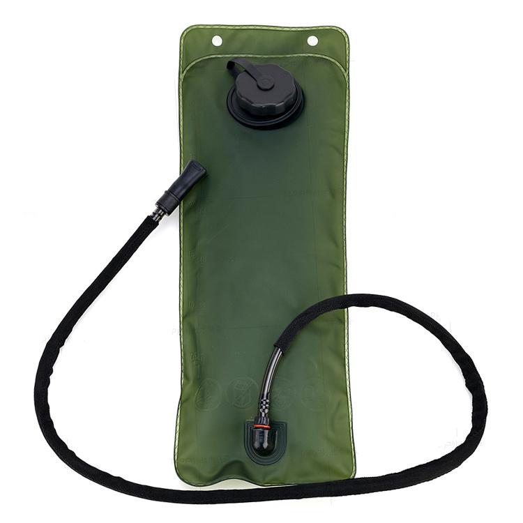 Camping Hiking Climbing 3L Military Green Water Bladder Bag
