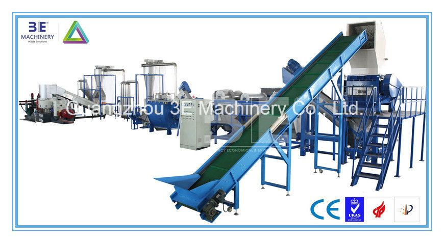 Plastic Film Recycling Line of Recycling Machine with Ce