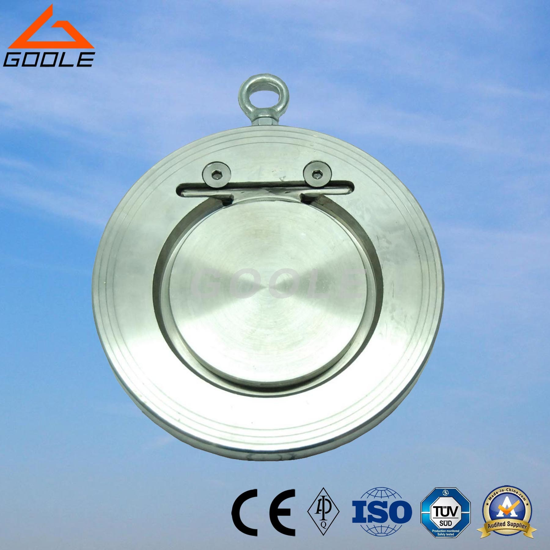 150lb Cast Steel Single Plate Swing Check Valve (GAH74H)