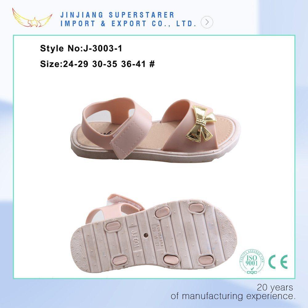 Girls and Women Ladies Flat Sole PVC Upper Jelly Sandal
