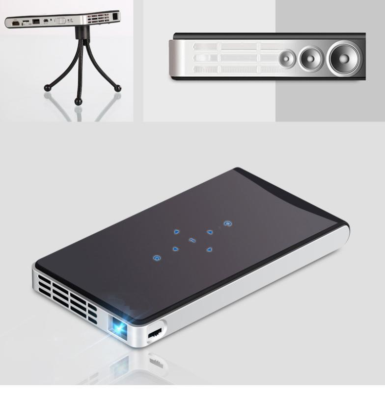 DLP-100wm WiFi Miniature Projector DLP Pocket Portable Projector Android System Projector