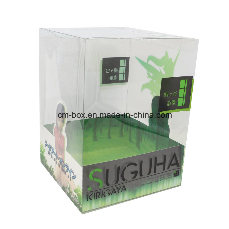 Custom Printed Transparent PVC Packing Box for Doll