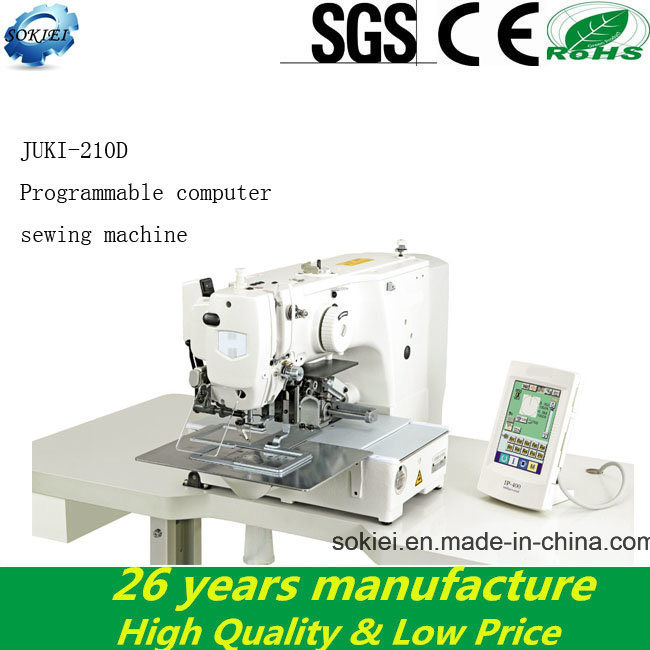 Omputer Automatical Juki 210d Electric Pattern Industrial Sewing Machines