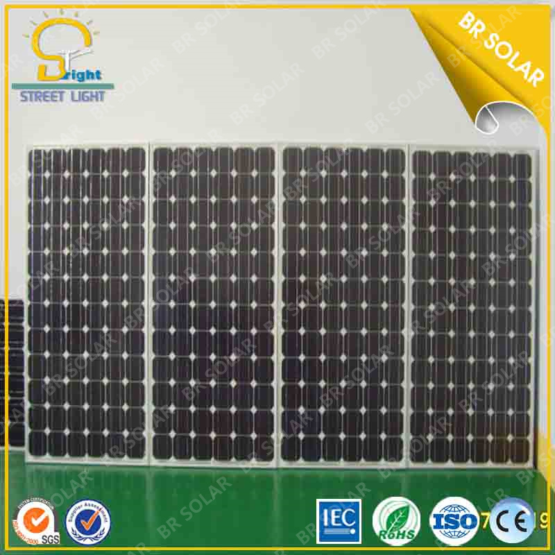 High Efficiency 250W Mono Crystalline Silicon Solar Panel