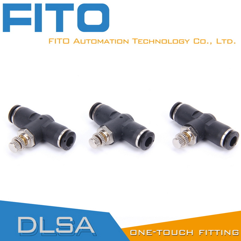 Lsa PA Speed Controller Pneumatic Fittings for Airtac Type