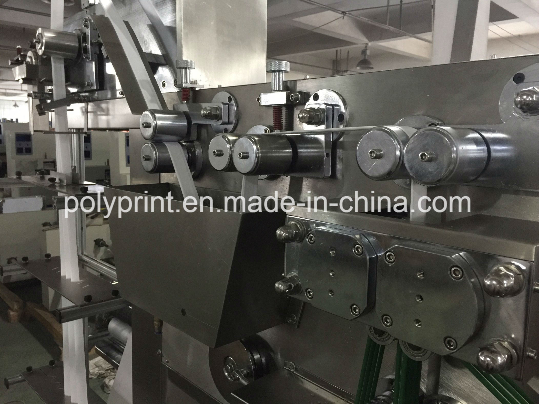 Automatic Dry / Wet Tissue Packing Machine