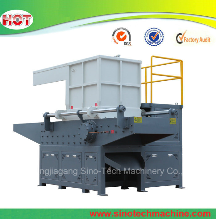 2017 Recycling Wood Tire Tyre Double Shaft Shredder Machine Plastic Single Shaft Shredder