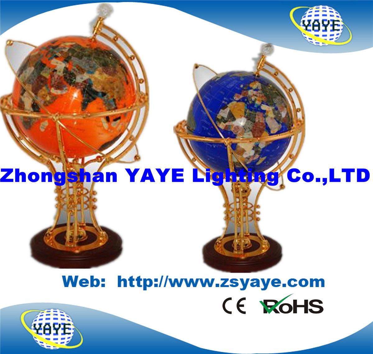 Yaye 18 Hot Sell Ce/ RoHS Lighting Gemstone Globe / Gemstone Globes / World Globes with Lighting