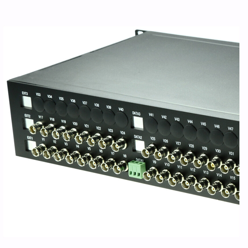 32-Channel Video and 1 Reverse RS485 Optical Video Transceiver