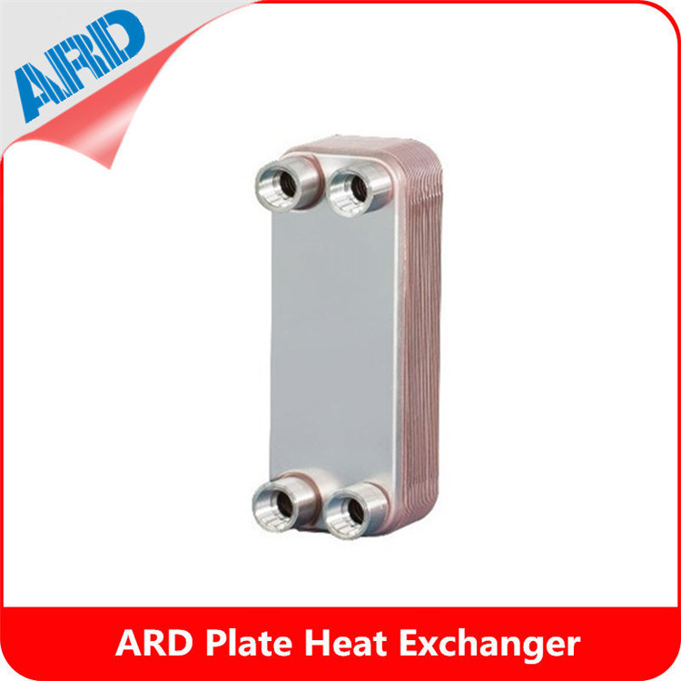 Small Portable Bl26 Bl26c Brazed Plate Heat Exchanger