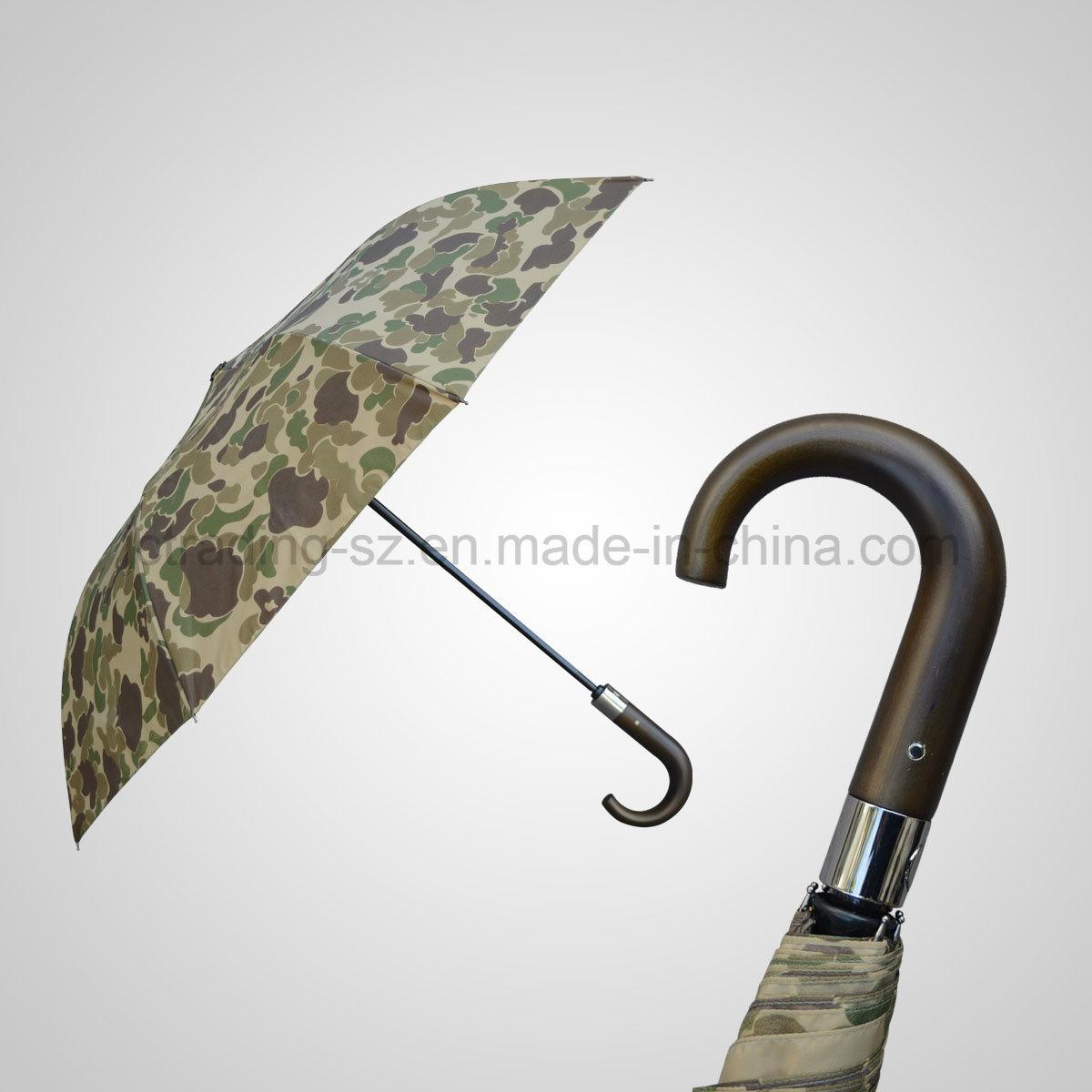 High Quality 2 Folding Automatic Open&Close Sun/Rain Umbrella (JF-AQT231)