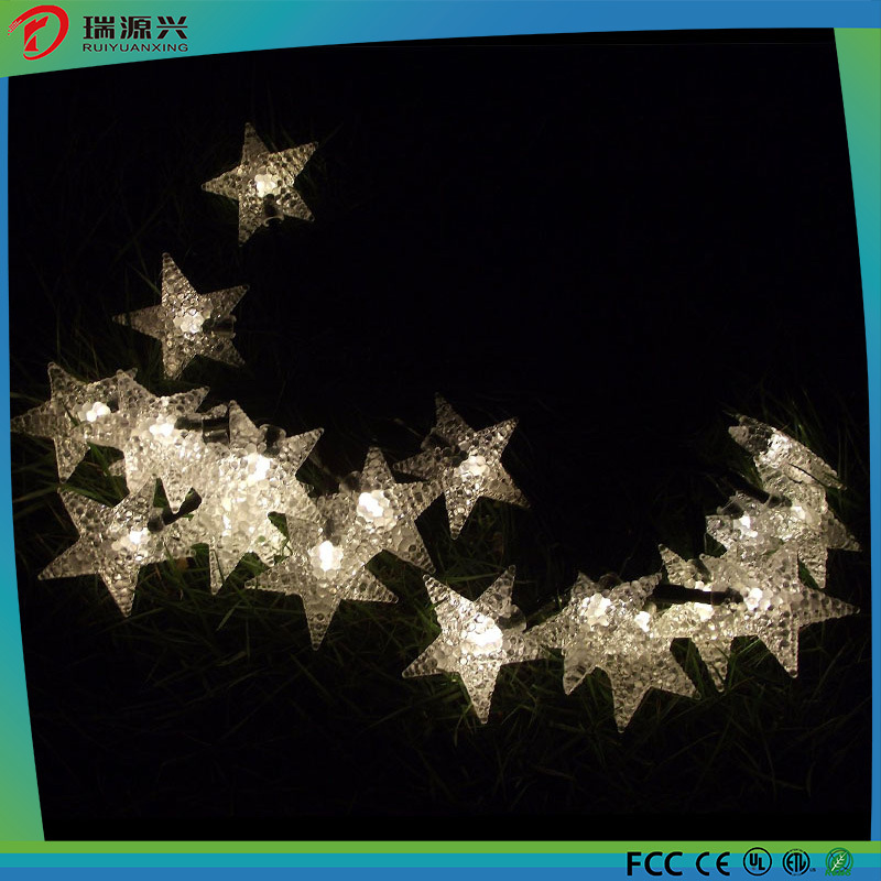 Factory Wholesale Christmas Tree Light Star Strip LED Lighting