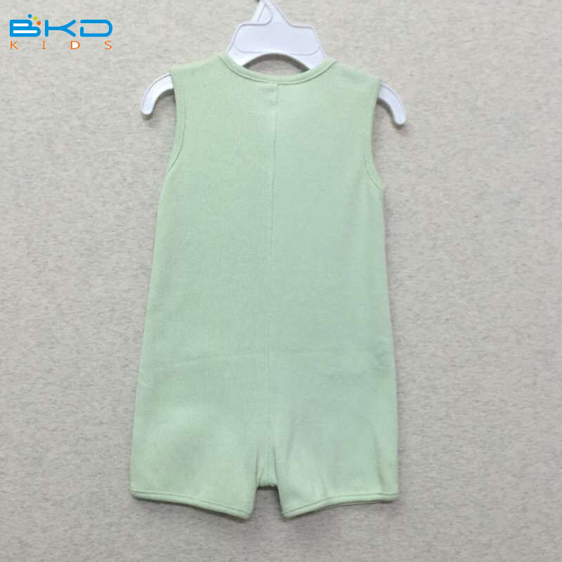 Sleeveless Baby Clothes Custom Size Baby Romper