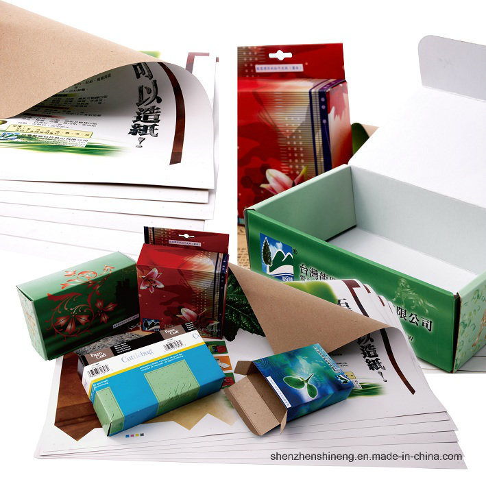 Water-Proof Paper Box ---- Stone Paper Rich (RBD-200um) Mineral Paper Double Coated