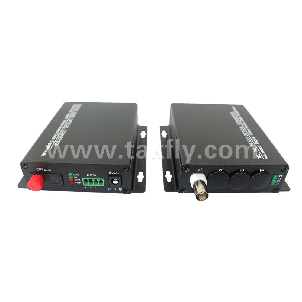 1 Channel Optical Transmitter and Receiver