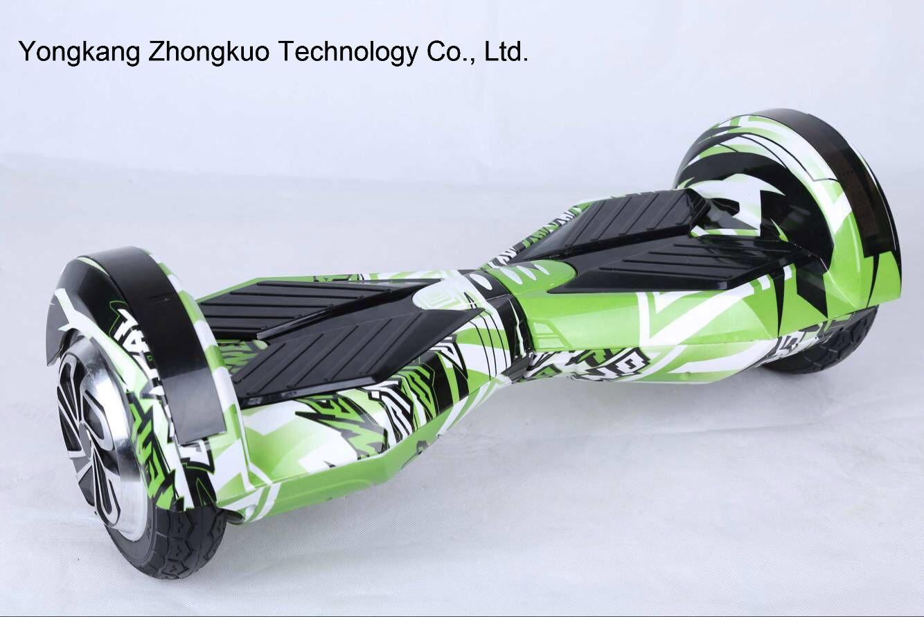 8inch 2 Wheel Electric Skateboard Plastic Hard Cover Hoverboard Abundant E-Scooter