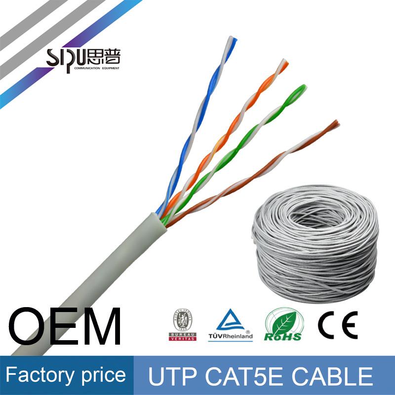 Sipu Low Price Fluke Test Cat5e UTP Network LAN Cable