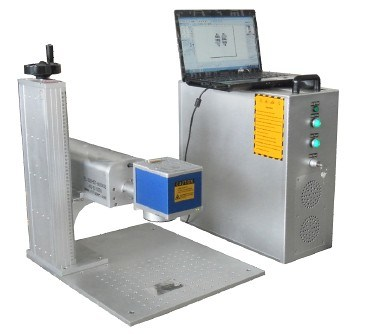 Portable Fiber CO2 Laser Marker for Metal Plastic Wood