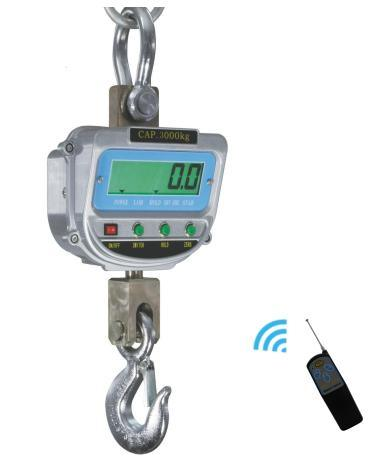 Ce Digital Crane Scale Hanging Scale LCD Display 2t