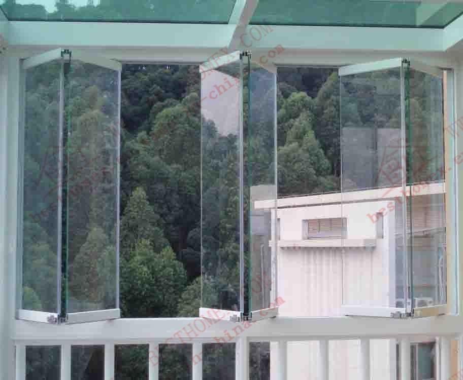 High Quality Aluminum Bi-Folding Glass Window (BHA-FW07)