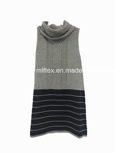 Sleeveless Knitting Sweater for Women