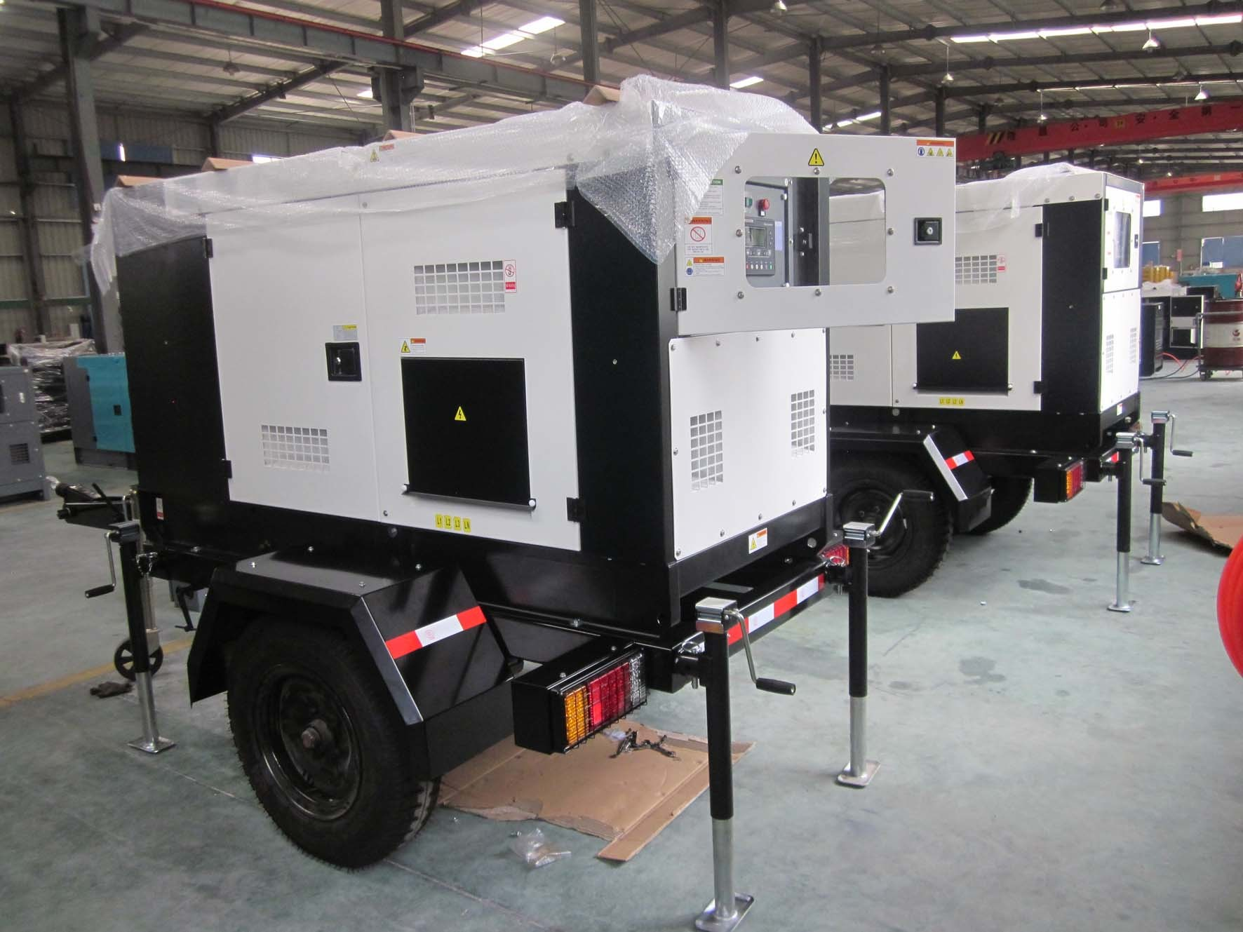 China 20kw Trailer Diesel Generator 25kVA Silent with Movable