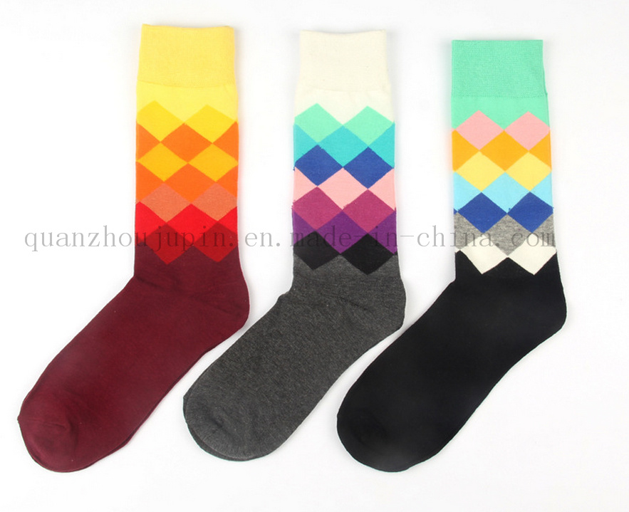 OEM Hot Sale Colorful Cotton Soft Socks for Promotion