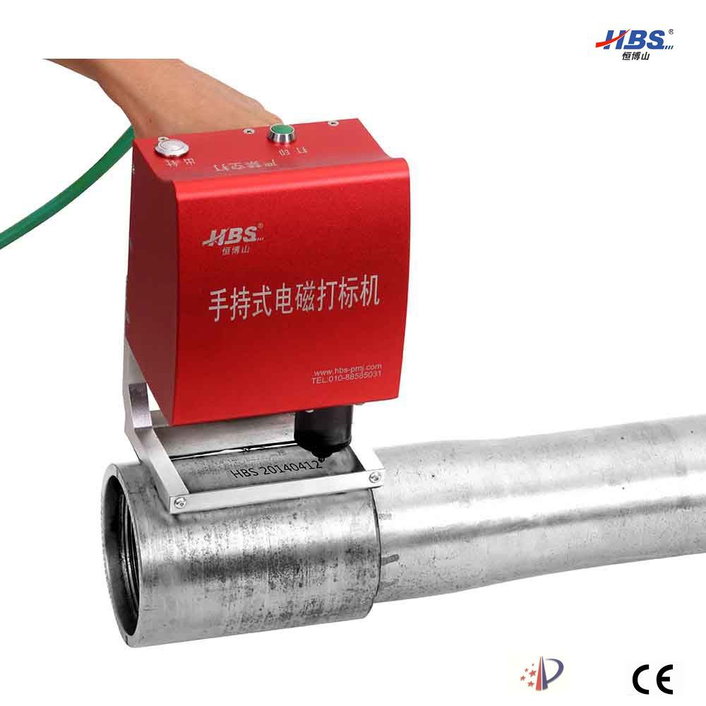 Electronic Portable DOT Peen Marking Machine for Pipe Number Marking