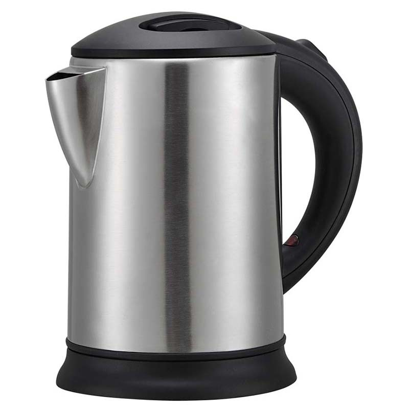 Hospitality Brushed Kettle Energy Saving Cordless Kettle with Trays