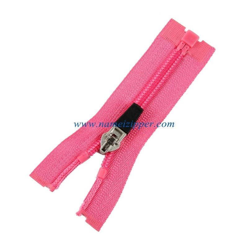 No. 5 Nylon Zipper O/E a/L Plastic Pin&Box Plastic Stops