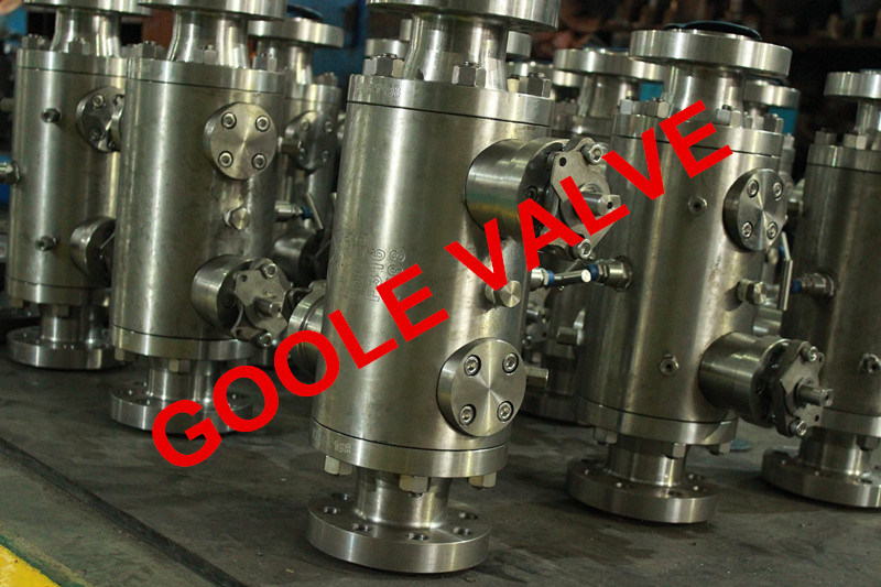 Flanged Double Block Bleed Trunnion Dbb Ball Valve (DBBQ347F)