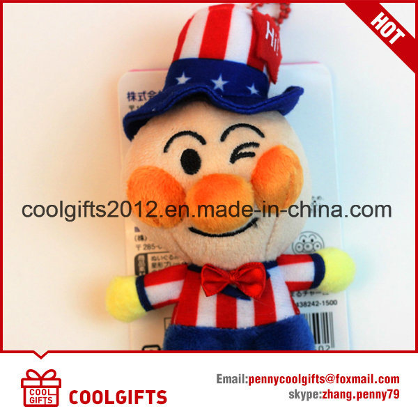 2017 New Custom Stuffed Plush Toys with Different Countries Design
