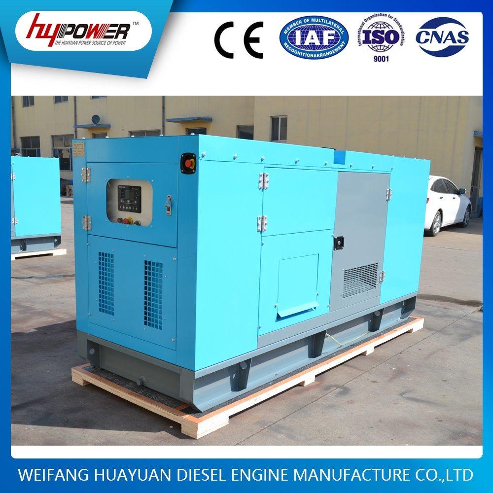 Soundproof Type 40kw/50kVA Generator Set Powered by Cummins 4BTA3.9-G2