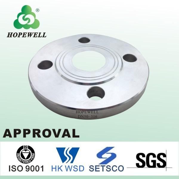 Top Quality Gunagzhou China Inox Plumbing Sanitary Stainless Steel 304 316 Press Flange