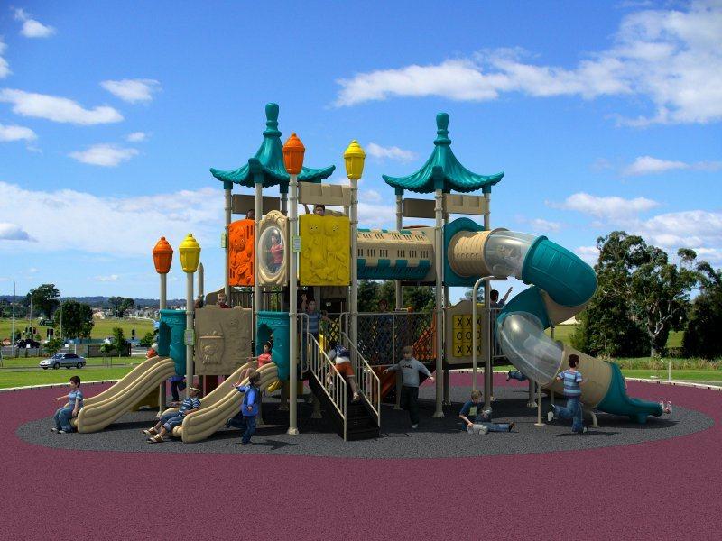 2017 Children Outdoor/Indoor Playground Slide Exercise Equipment OEM/ODM Orders Are Acceptalbe Disneyland Series