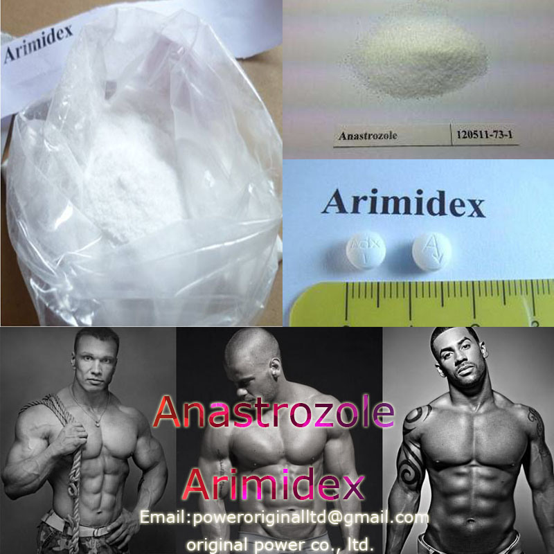 99.7% High Purity Raw Powders Anastrozoles Arimidex