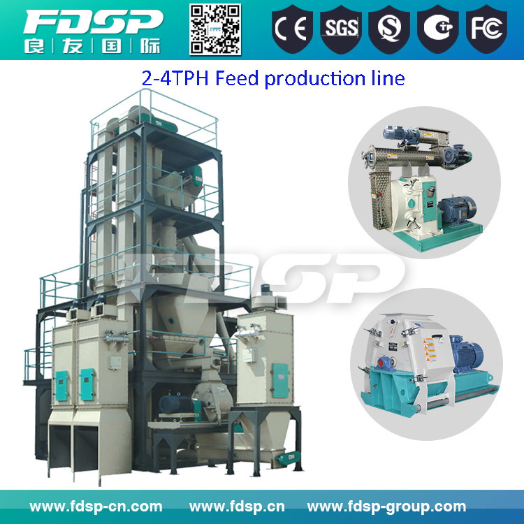 Manufacturing Birds Feed Project / Animals Feed Production Line