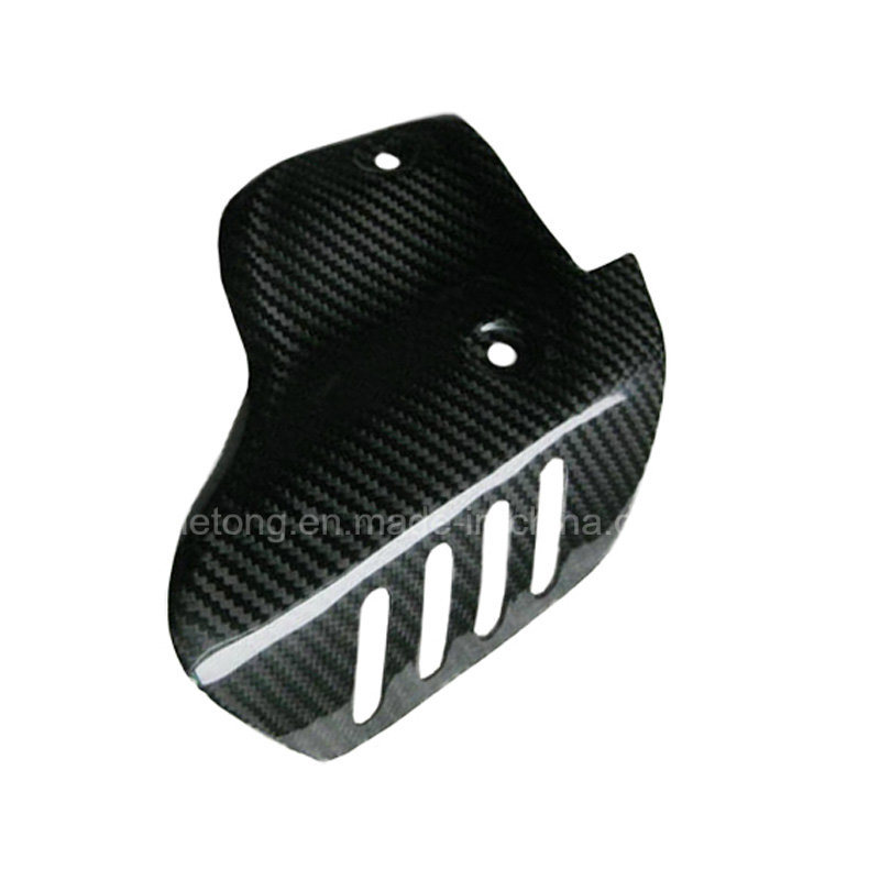 Carbon Fiber Motorcycle Exhaust Heat Guard for Ducati 1198, 1098, 848
