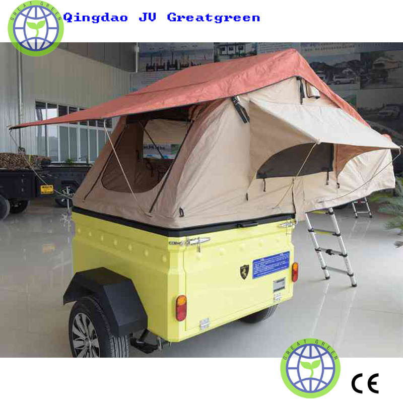 Custom Trailer Tent with Your Own Logo and Colour