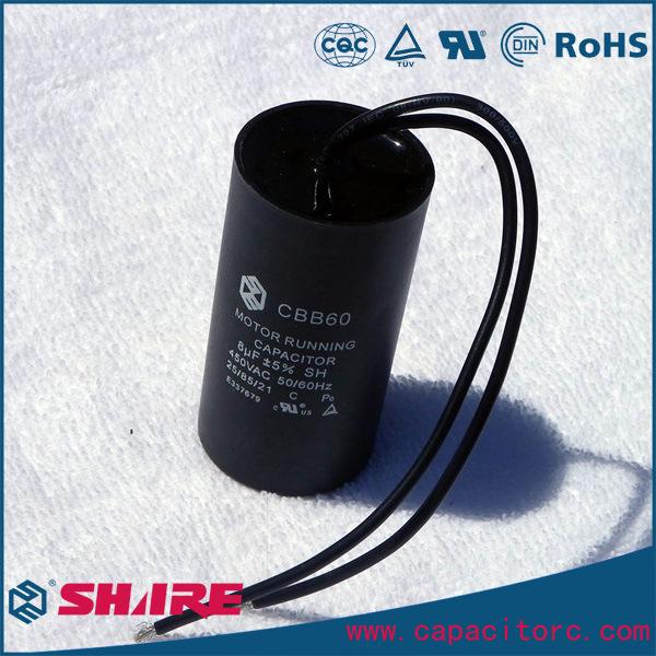 Cbb60 AC Motor Running Capacitor for Water Pump