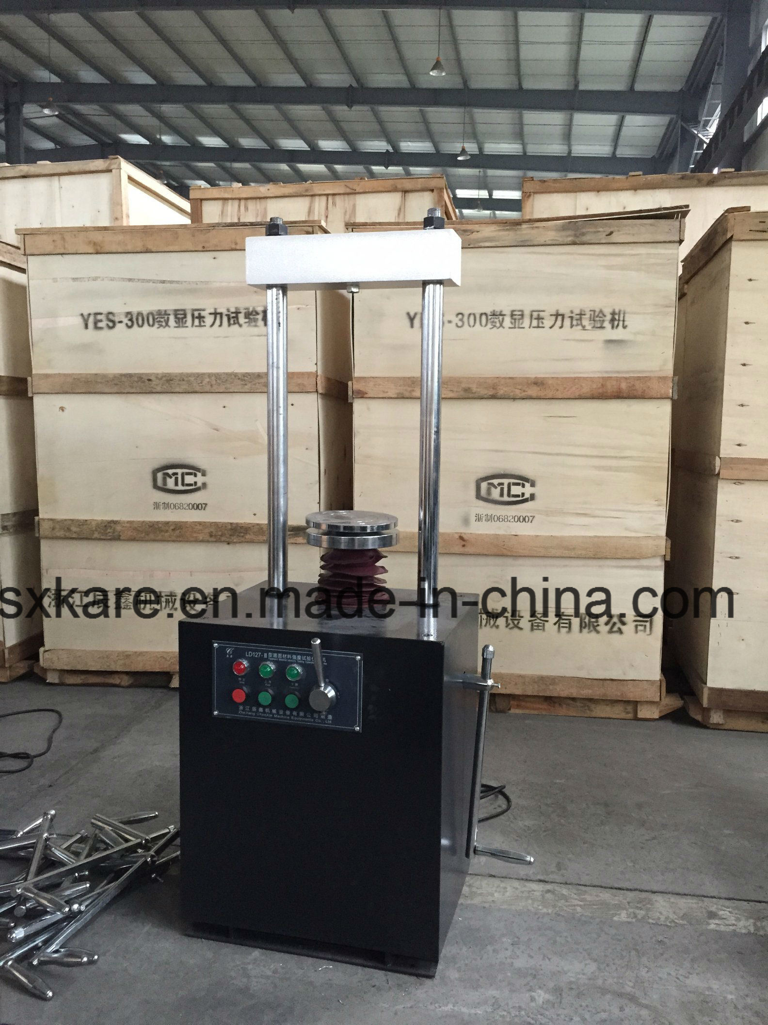Pavement Material Strength Testing Machine Mainframe, Cbr Testing Machine (LD127-II)